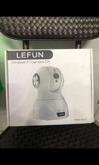 (全新)LeFun 家居(1080p)高清IP Cam 一app安裝,可接wifi,不需接電腦(7日有問題一換一)