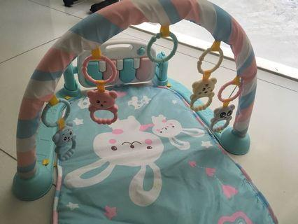 Baby Exercise playing cot