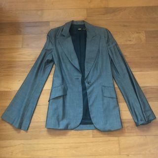 MNG grey formal jacket