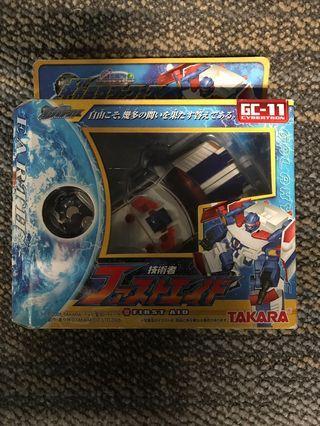 全新變形金剛Transformers 日版超Robot生命體 GC-11 技術者 First Aid