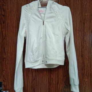 White Jacket Crop