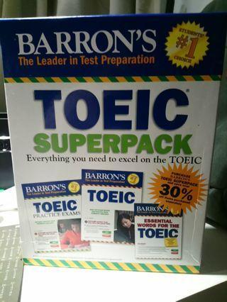 Barron's Toeic 10回