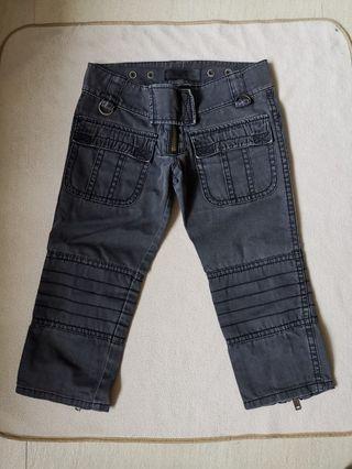 Moussy 黑色及膝褲