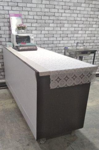 Cabinet and Counter