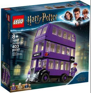 LEGO 75957 Harry Potter 哈利波特 The Knight Bus 同系列 75947 75945 75948 75854 75953
