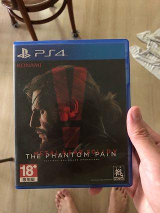 🚚 PS4 Metal Gear Solid V