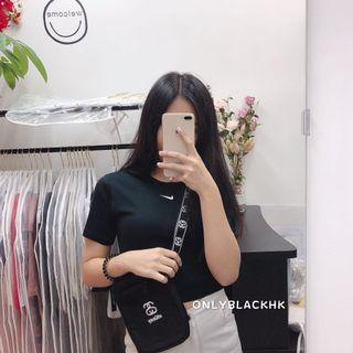 Nike mini tee +stussy bag