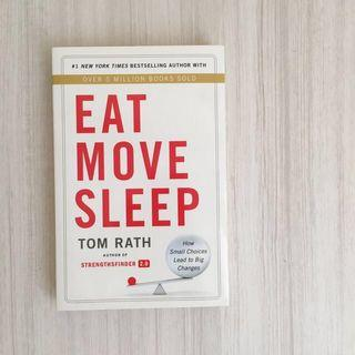 🥗Tom Rath - Eat Move Sleep #Rayathon50