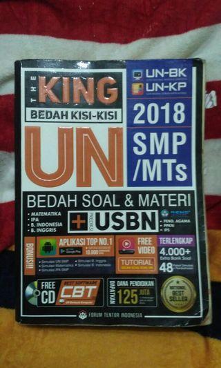 the king bedah kisi-kisi smp