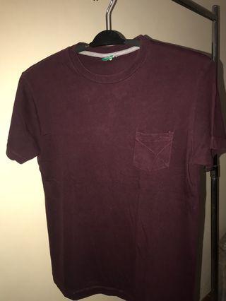 ®️sch t-shirt pocket red