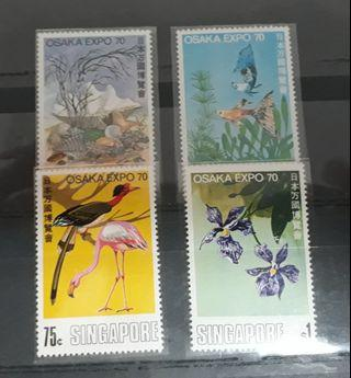 🚚 Singapore stamps Mint