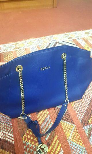 Furla Brand New Leather Handbag