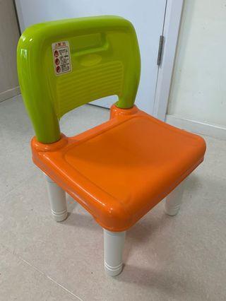 九成新幼兒膠凳2個 適合1-4歲 每個價格