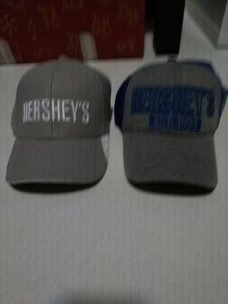 Hershey's baseball cap hat (both)