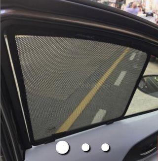 Prius C Aqua NHP10 Sunshades 窗網 前後尾窗共5幅
