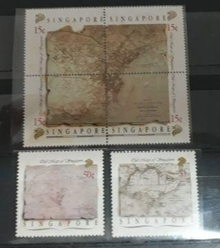 Singapore stamps Mint