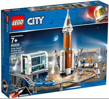 LEGO City 60228 Space Research Rocket Control Center同系列 60230 60231 60233 60234 60226 60227