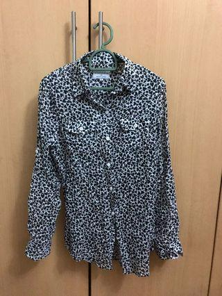 Cotton On Long sleeved heart printed shirt