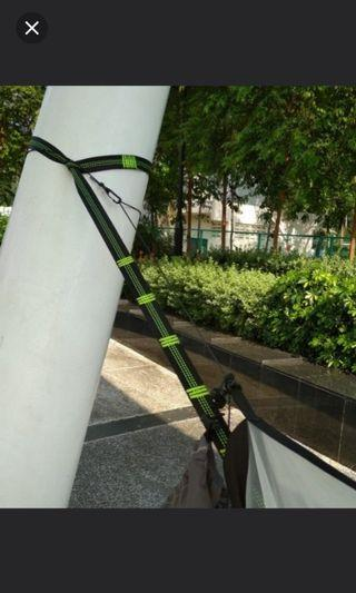 Quick and Easy Hammock Straps