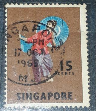 Singapore stamps (1965 OCT 17 )