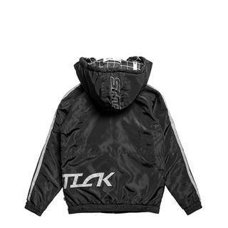 🚚 【全新轉賣】SHTICK 街頭風衣鋪棉連帽外套-可拆式帽子