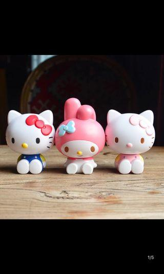 Hello Kitty My Melody Figurine Cake Topper