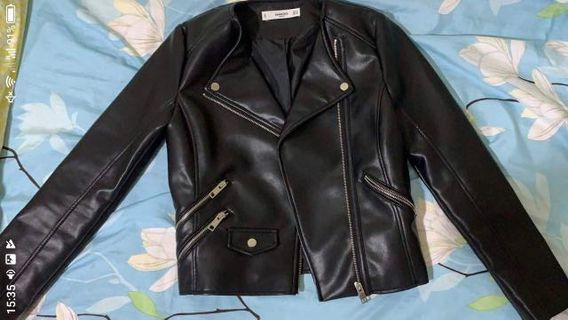 🚚 Mango Leather Jacket