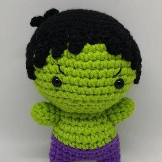 Handmade Marvel Doll - Hulk