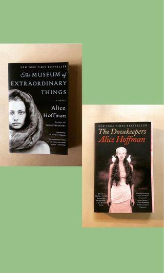 【Alice Hoffman】The Museum of Extraordinary Things and The Dovekeepers #RayaThon50