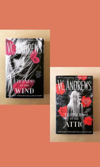 【V.C. Andrews】Flowers in the Attic & Petals on the Wind #RayaThon50