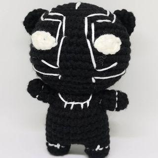 Handmade Marvel Doll - Black Panther