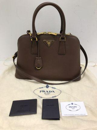 Prada Saffiano Lux leather bag