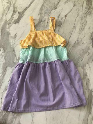 Cute baby doll layered dress