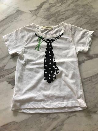 🚚 Smartie cute boy tee for age 3-4 yrs old
