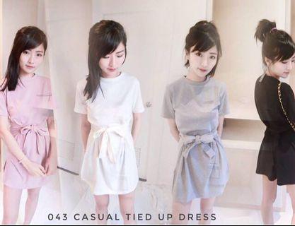 Tied Ribbon Dress