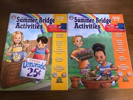 Summer Bridge Activities G3-5🧬🔬