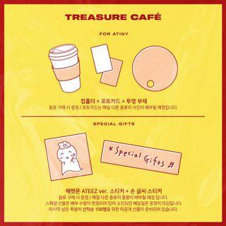 int check/ ateez treasure cafe pcs