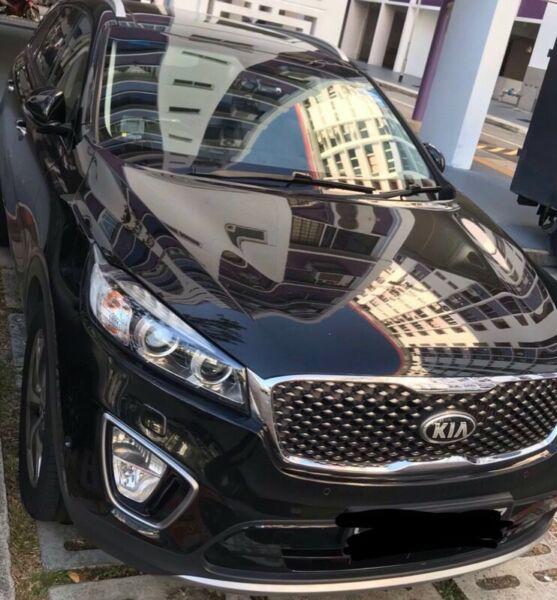 Car rental : Kia Sorento 2.2 (A) for Long term rental