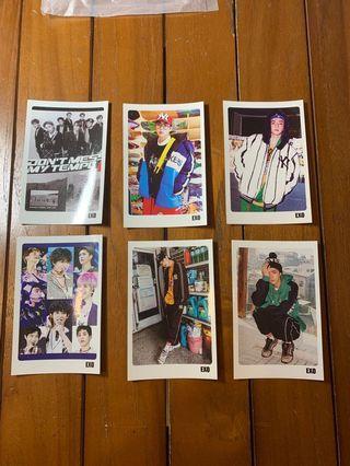 EXO unofficial photo card