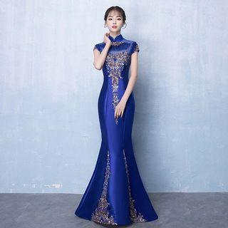Dinner Gown in Blue
