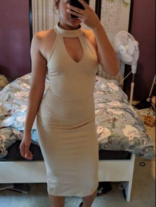 New with tags Nude body con party dress size 8