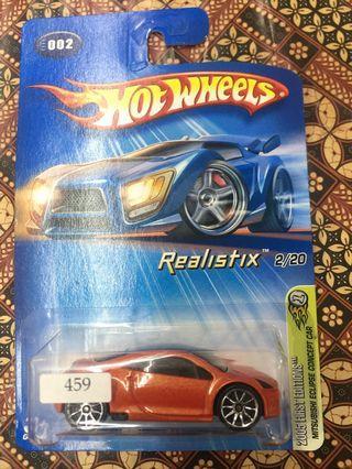 Hotwheels Mitsubishi Eclipse
