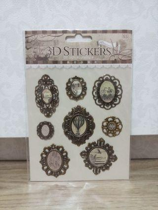 Eno Greeting 3D Stickers (Frames)