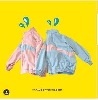 loony pastel vintage jacket-windbreaker