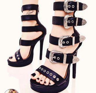 Current mood dollskill studded heels