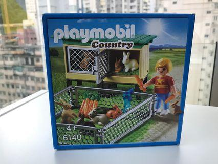 Playmobil country 6140 兔仔