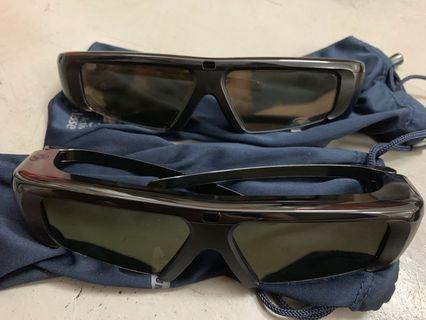 SAMSUNG active 3D glasses x 2