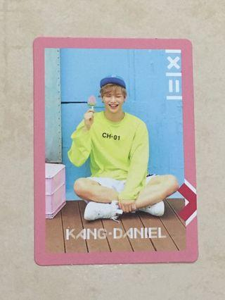 Wanna One Official Kang Daniel To Be One First Mini Album Pink Version PC / Phtotocard ( WannaOne )