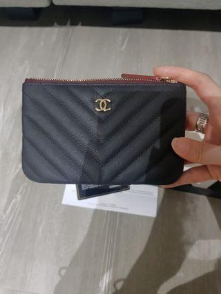 Chanel Mini O Case 19s (Black)