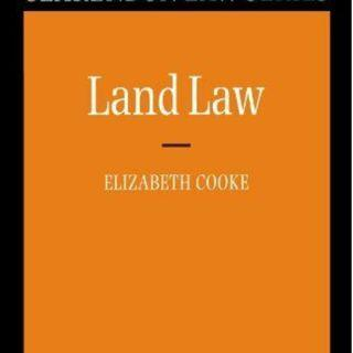 Land Law (Clarendon Law) (Clarendon Law Series) by Cooke, Elizabeth Paperback